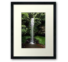 Crystal Shower Falls Framed Print