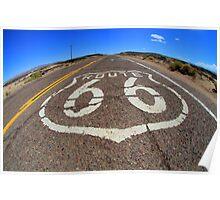 Route 66 Original Highway California Poster