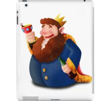 Drunk king iPad Case/Skin