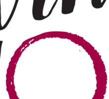 Wine Mom Sticker