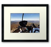Beautiful Tasmania - Come fly with me Framed Print