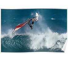 Windsurfing Maui Poster