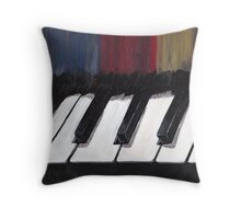 Stage Fright Throw Pillow
