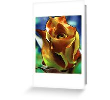 Paint Me a Song - the image Greeting Card