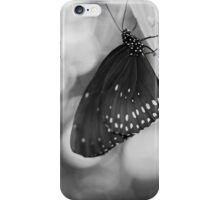 Spotted Butterfly in Black and White iPhone Case/Skin