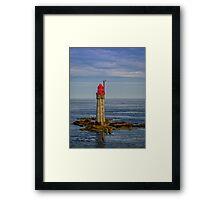 St Malo Lighthouse Framed Print
