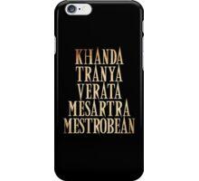 Ash vs Evil Dead - Khanda Tranya Verata... iPhone Case/Skin