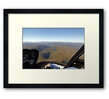 Beautiful Tasmania - Come fly with me 2 Framed Print