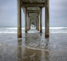 Scripps Pier California by Bob Christopher