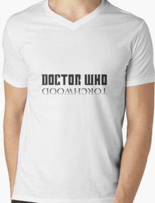 Doctor Who/Torchwood Mens V-Neck T-Shirt