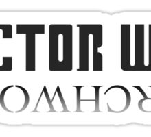 Doctor Who/Torchwood Sticker