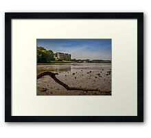 Castell Carew Estuary Framed Print