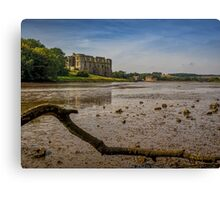 Castell Carew Estuary Canvas Print