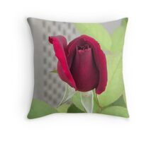Red Rose for Cheryl Throw Pillow