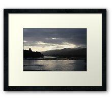 Dusk pass Framed Print