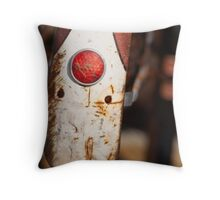 Photo of bike in East Village Throw Pillow