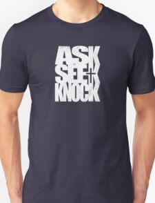 Ask Seek Knock (W) T-Shirt