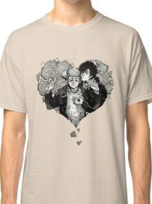 Sherlock: The Reichenbach Fall Grey Classic T-Shirt