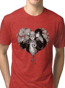 Sherlock: The Reichenbach Fall Grey Tri-blend T-Shirt