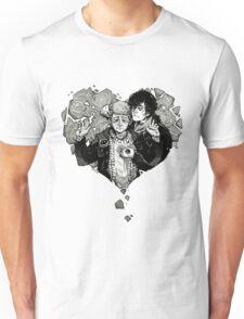 Sherlock: The Reichenbach Fall Grey Unisex T-Shirt