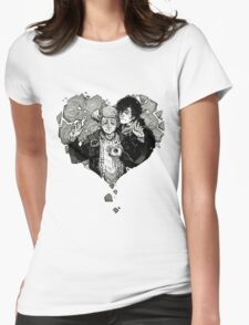 Sherlock: The Reichenbach Fall Grey Womens Fitted T-Shirt