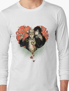 Sherlock: The Reichenbach Fall Long Sleeve T-Shirt