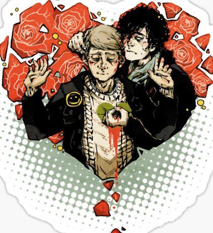 Sherlock: The Reichenbach Fall Sticker