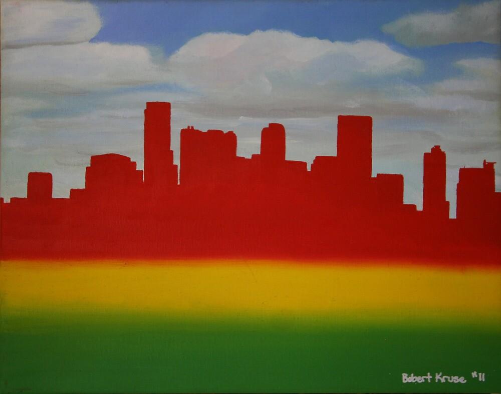 Denver Rasta Skyline by Bobert1