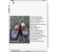 'n Verhaaltjie iPad Case/Skin
