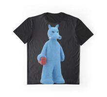 BIG Quasimoto Blue Graphic T-Shirt