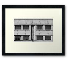 Art Deco Facade 1 Framed Print