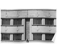 Art Deco Facade 1 Poster