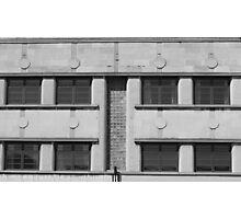 Art Deco Facade 1 Photographic Print