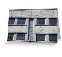 Art Deco Facade 2 Greeting Card