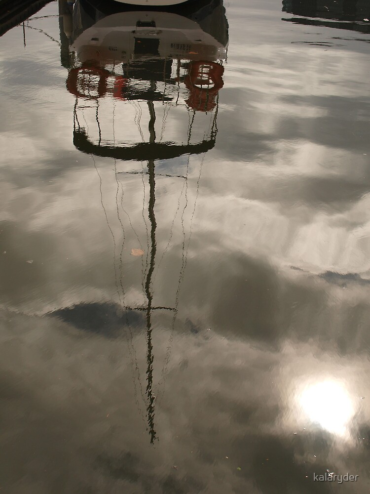 Reflection of a Boat by kalaryder