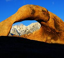 Mobius Arch Morning Light by Bob Christopher