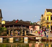 Pagoda Bridge, Hoi An, Vietnam by John Raftery