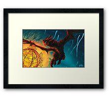 The Sun of Blackreach Framed Print