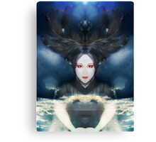 Through the ages she regained her power Canvas Print