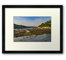 Fishguard Harbour Framed Print