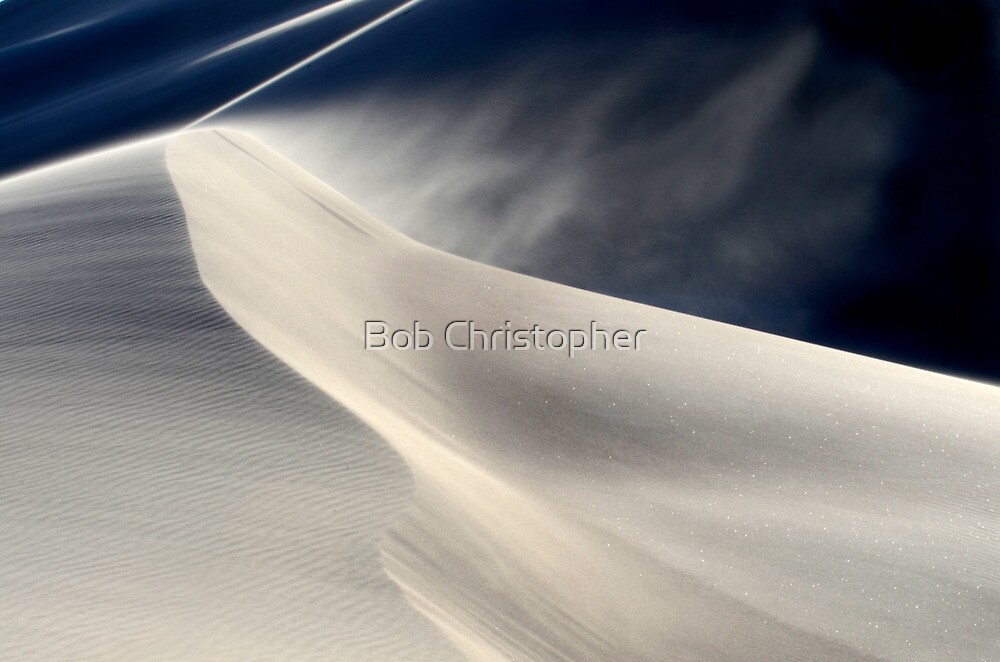 Amargosa Dunes by Bob Christopher