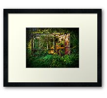 The Olde Potting Shed Framed Print