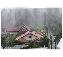 Monsoonal Rain in Nai Harn Poster