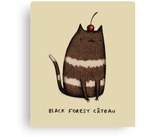 Black Forest Câteau Canvas Print