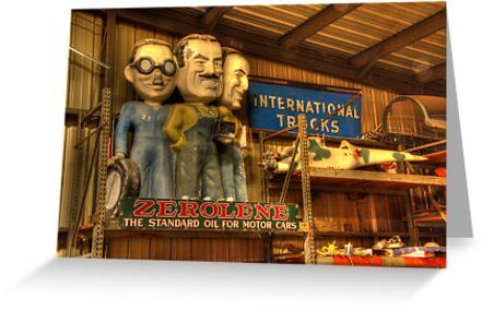 The Zerolene Team by Bob Christopher