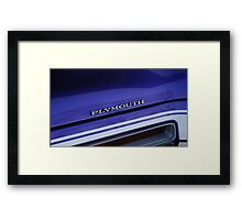 Plymouth Duster Framed Print