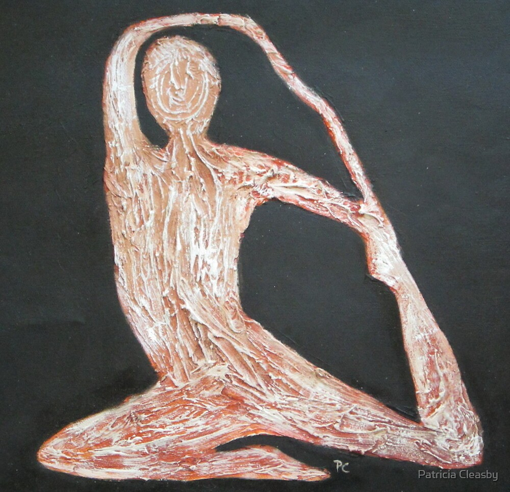 Yoga Position by Patricia Cleasby