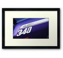 Plymouth Duster 340 Framed Print