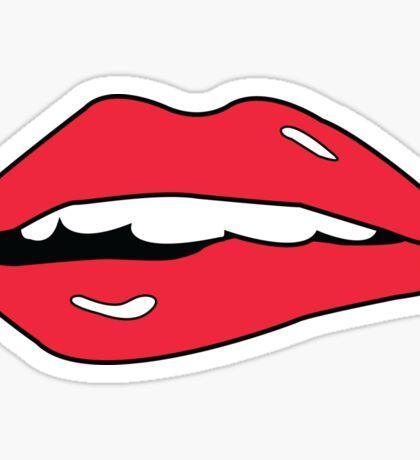 Love At First Bite Sticker