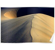 Death Valley Shape Shifters Poster